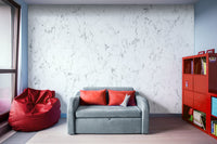 Marble Stone White, Black and Gray 2 Texture - Adhesive Wallpaper - Removable Wallpaper - Wall Sticker - Full Size Wall Mural
