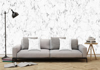 Marble Stone White, Black and Gray 2 Texture - Adhesive Wallpaper - Removable Wallpaper - Wall Sticker - Full Size Wall Mural  - PIPAFINEART
