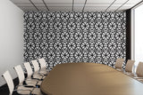 Circle Heaven Illustration - Adhesive Wallpaper - Removable Wallpaper - Wall Sticker - Full Size Wall Mural