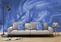 Flowing Purple Haze - Adhesive Wallpaper - Removable Wallpaper - Wall Sticker - Full Size Wall Mural - PIPAFINEART