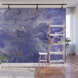 Mixed Art Texture - Fluid Art - Acrylic Dirty Paint Pour 4 - Adhesive Wallpaper - Removable Wallpaper - Wall Sticker - Full Size Wall Mural