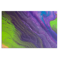 Removable Wall Mural - Wallpaper  Abstract Artwork - Fluid Art Pour 29  - PIPAFINEART