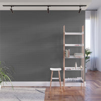 White and Gray Basket Weave Lines on Black - Adhesive Wallpaper - Removable Wallpaper - Wall Sticker - Full Size Wall Mural - PIPAFINEART