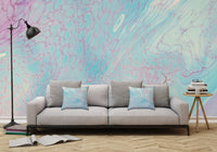 Removable Wall Mural - Wallpaper  Abstract Artwork - Fluid Art Pour 23  - PIPAFINEART