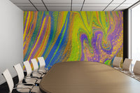 Removable Wall Mural - Wallpaper  Abstract Artwork - Fluid Art Pour 33  - PIPAFINEART