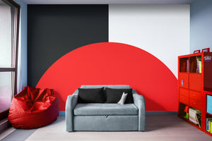 Basic Bold - Adhesive Wallpaper - Removable Wallpaper - Wall Sticker - Full Size Wall Mural
