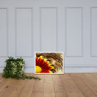 Floating Mum Floral Nature Photo Framed Wall Art Print White / 18×24 - PIPAFINEART