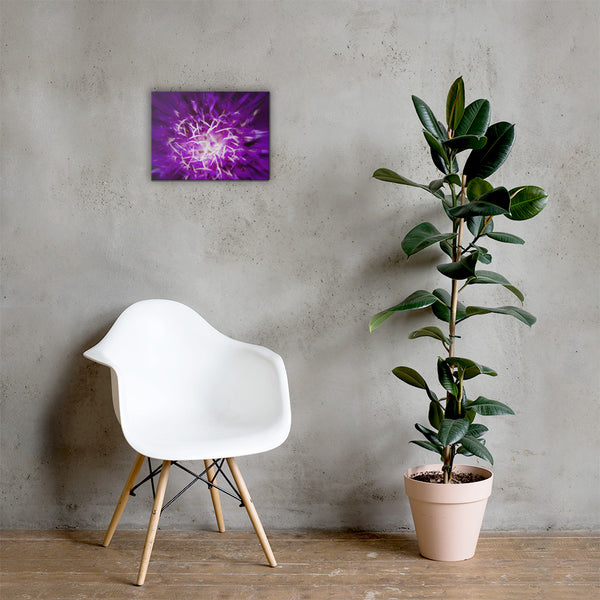 Abstract Flower Floral Nature Canvas Wall Art Prints 12×16 - PIPAFINEART