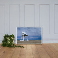 Approaching Storm Coastal Landscape Framed Photo Paper Wall Art Prints White / 24×36 - PIPAFINEART