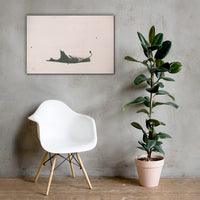 Bleak Winter Botanical Nature Canvas Wall Art Prints 24×36 - PIPAFINEART