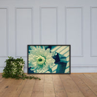 Melancholy Flower Floral Nature Photo Framed Wall Art Print Black / 24×36 - PIPAFINEART