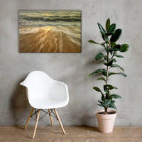 Washing Out to Sea Coastal Nature Canvas Wall Art Prints 24×36 - PIPAFINEART