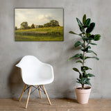 Remnant of Better Days Rural Landscape Canvas Wall Art Prints 24×36 - PIPAFINEART