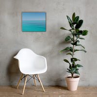 Colors of The Tropical Sea Abstract Landscape Photo Canvas Wall Art Prints 16×20 - PIPAFINEART