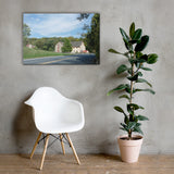 Greenbank Mill Summer Canvas Wall Art Prints Rural / Farmhouse / Country Style Landscape Scene 24×36