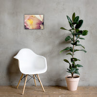 Close-up of Orchid Floral Nature Canvas Wall Art Prints 12×16 - PIPAFINEART
