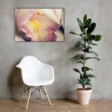 Close-up of Orchid Floral Nature Canvas Wall Art Prints 24×36 - PIPAFINEART