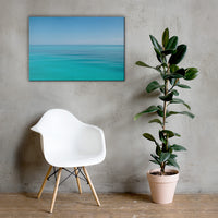 Colors of The Tropical Sea Abstract Landscape Photo Canvas Wall Art Prints 24×36 - PIPAFINEART