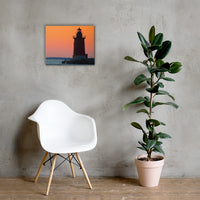 Sunset at Henlopen State Park 3 Coastal Landscape Canvas Wall Art Prints 16×20 - PIPAFINEART