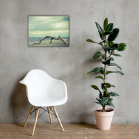 The Cove Coastal Landscape Canvas Wall Art Prints 18×24 - PIPAFINEART