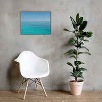 Colors of The Tropical Sea Abstract Landscape Photo Canvas Wall Art Prints 18×24 - PIPAFINEART