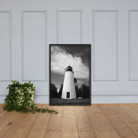 Touch the Sky Black & White Landscape Framed Photo Paper Wall Art Prints Black / 24×36 - PIPAFINEART