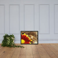 Floating Mum Floral Nature Photo Framed Wall Art Print Black / 18×24 - PIPAFINEART