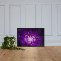 Abstract Flower Floral Nature Photo Framed Wall Art Print Black / 24×36 - PIPAFINEART