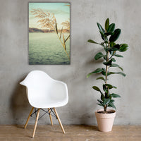 Golden Dreams Botanical Nature Canvas Wall Art Prints 24×36 - PIPAFINEART