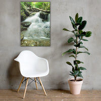Pixley Waterfalls 2 Rural Landscape Canvas Wall Art Prints 24×36 - PIPAFINEART