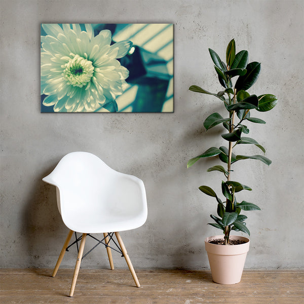 Melancholy Flower Floral Nature Canvas Wall Art Prints 24×36 - PIPAFINEART