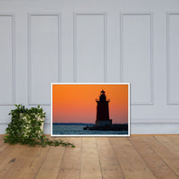 Sunset at Henlopen State Park 3 Framed Photo Paper Wall Art Prints White / 24×36 - PIPAFINEART