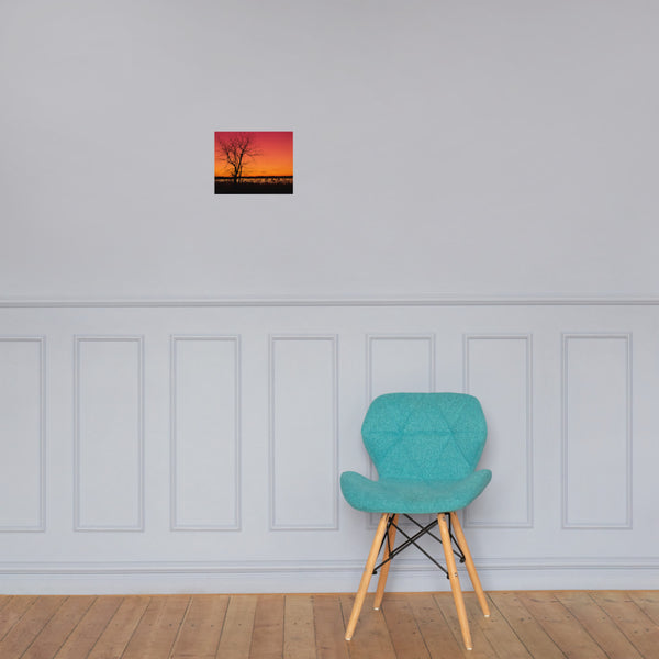 Burning Skies Landscape Photo Loose Wall Art Prints 8×10 - PIPAFINEART