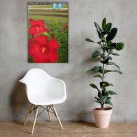 The Riverfront 2 Floral Nature Canvas Wall Art Prints 24×36 - PIPAFINEART