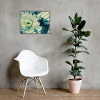 Melancholy Flower Floral Nature Canvas Wall Art Prints 18×24 - PIPAFINEART