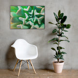 Succulent Botanical Nature Canvas Wall Art Prints 24×36 - PIPAFINEART