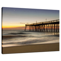Motion of the Ocean Coastal Landscape Photo Fine Art Canvas Wall Art Prints  - PIPAFINEART
