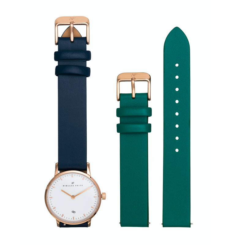 Rose Gold Kit - Navy + Green