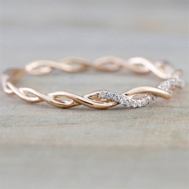 Rose Gold Color  Ring