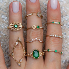 Load image into Gallery viewer, Jade Rings Set