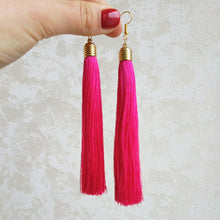 Load image into Gallery viewer, Vintage Ethnic Long Tassel Earrings Women 2019