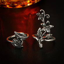 Load image into Gallery viewer, The Flower Goddess Ring Set