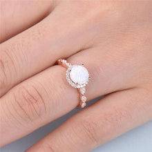 Load image into Gallery viewer, Luxury Rose Gold Shining Ring