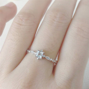 The Adriana Promise Ring