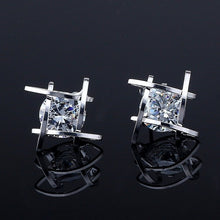Load image into Gallery viewer, Diamond Illusion Crystal Stud Earrings