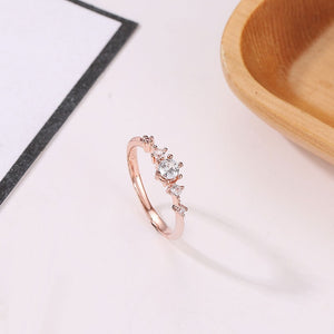 The New Flash Rose Gold Ring