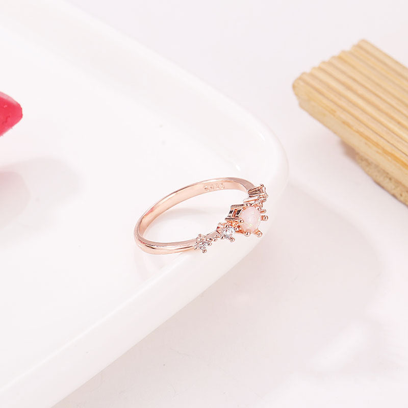 eaa8a6df0fae2 The New Flash Rose Gold Ring