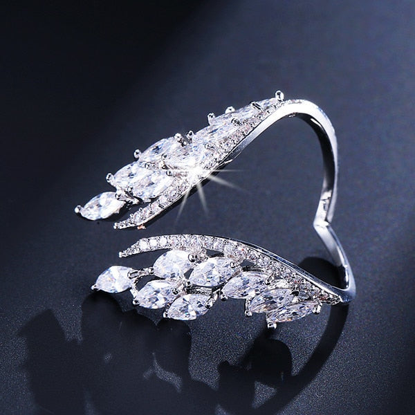 Butterfly Wings Crystal Ring