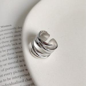 Weave Silver Ring