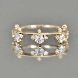 Elegant Flower Ring